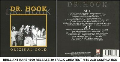 Dr Hook - Very Best 30 Greatest Hits Collection RARE 70's 80's Country Rock 2CD