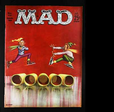 Mad (1952 series) #70 in Fine condition. E.C. comics [*wo]