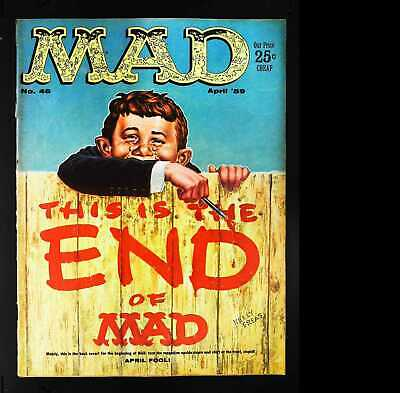 Mad (1952 series) #46 in Very Good minus condition. E.C. comics [*d8]