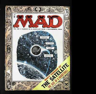 Mad (1952 series) #26 in Good + condition. E.C. comics [*cd]