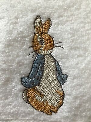 Peter Rabbit/Flopsy Rabbit Hooded Bath Towel Baby Girl/Boy Beatrix Potter Unisex