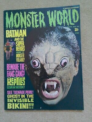 Monster World #10 Warren Magazines 1966