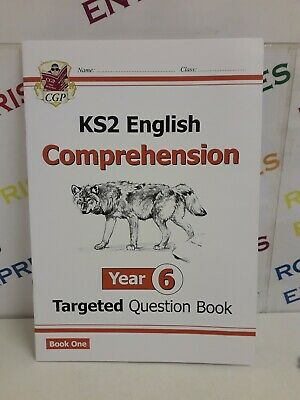 CGP KS2 ENGLISH Targeted SATs Question Book Year 6 Comprehension Book 1