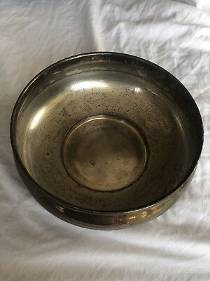 Vintage English Silver Mfg Corp. Dish Bowl MADE IN USA