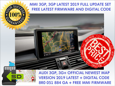 Audi A4, A5, Q5, Q7 Mmi 3Gp, Mmi 3G+, Mmi (Hdd), Update 2019 Final, 8R0060884Ga