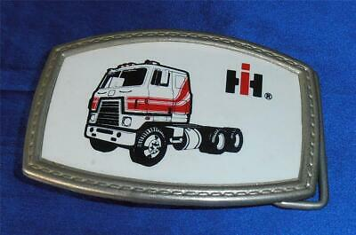 Trucker Vintage IH INTERNATIONAL HARVESTER SEMI TRUCK Patch Tractor Truck