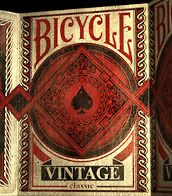 Bicycle Vintage Classic Playing Cards Deck