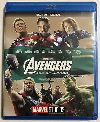 Avengers Age of Ultron (Bluray, 2015, Marvel, Phase 2) Canadian
