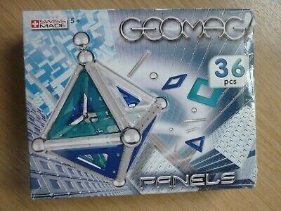 Geomag Panels Set (36 Pieces) Item:361 Instruction Booklet Magnetic construction