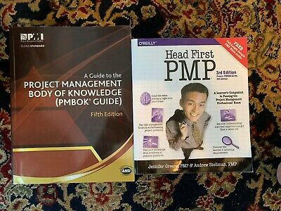 PMI PMBOK Guide 5th Edition AND o'reilly Head First PMP 3rd Edition