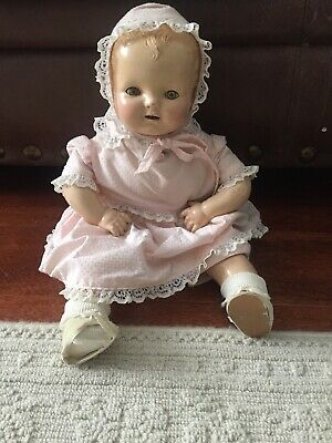 Early 20th Century Antique Baby Hendren Doll