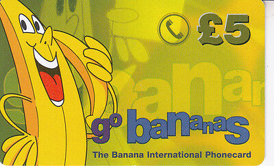 Royaume-Uni/United Kingdom  GO BANANAS £5