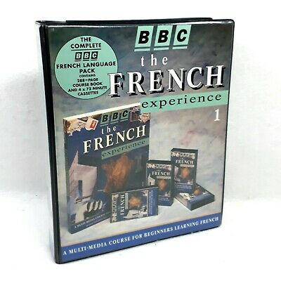 BBC the Learn French Experience 4 cassette with accompanying text book.