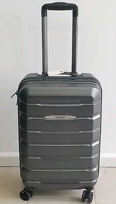 "Samsonite Tech 2.0 Grey Polycarbonate 21"" spinner Carry On Luggage"