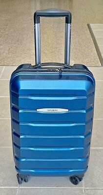 "Samsonite Tech 2.0 Blue Polycarbonate 21"" spinner Carry On Luggage"