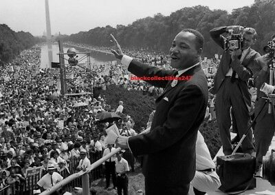 MARTIN LUTHER KING JR PHOTO 8X10 Activist Civil Rights Memorabilia Collectibles