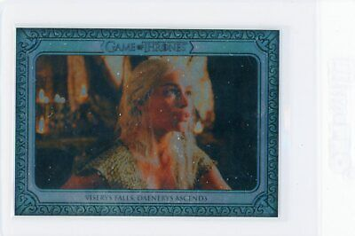 2019 Rittenhouse Game Of Thrones Inflexions Base #11 Viserys Falls Daenerys