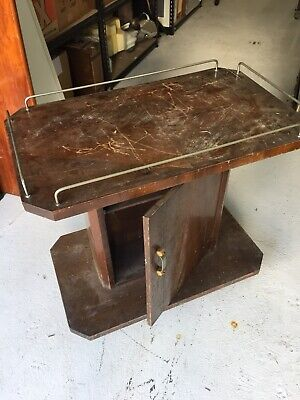 Vintage Art Deco Service Trolley  original