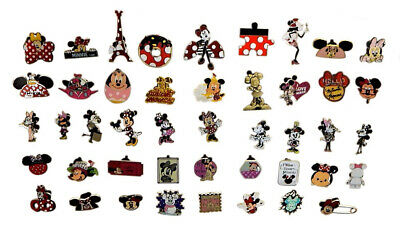 Minnie Mouse Themed 5 Pin Set Walt Disney World Trading ~ Brand NEW