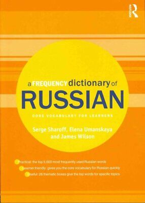 A Frequency Dictionary of Russian core vocabulary for learners 9780415521420