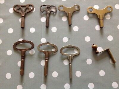 Antique Clock Key Winders From Clockmakers Collection