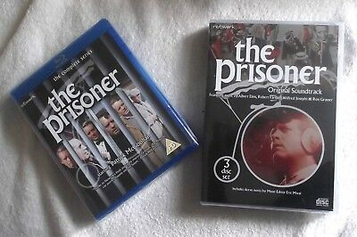The Prisoner - Complete Series ; 6-Blu-ray Box Set + 3-CD Box S , NEW and Sealed