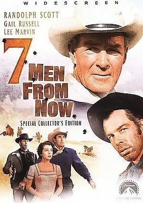 Seven Men from Now (DVD, 2005, Special Collectors Edition)***DISC ONLY***