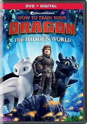 How to Train Your Dragon: The Hidden World (DVD,2019)