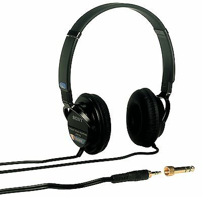 Sony Mdr-7502 Lightweight Professional Headphone - Stereo - Black - Mini-phone -