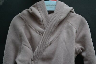 BONDS baby girl top cardigan wrap Sz 1 COMFIES BNWT 12 mth tracksuit sloppy joe