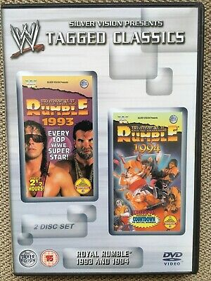 WWF WWE Royal Rumble 1993 93 & 1994 94 Tagged Classics DVD