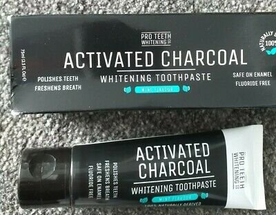 PRO TEETH WHITENING Activated Charcoal Whitening Toothpaste