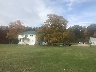113.75 acre partially wooded farm near Dawes Arboretum Licking Cty with 3/2 home