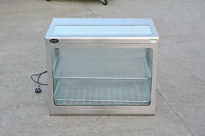SEAL counter top pie warmer hot cupboard heated display commercial cabinet used