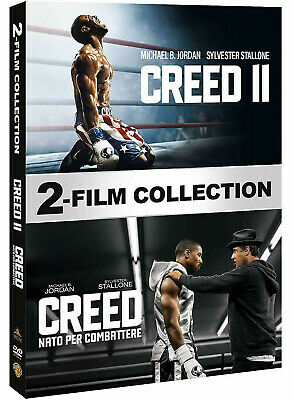 CREED COLLECTION 2 FILM (2 DVD) Sylvester Stallone, Michael B. Jordan