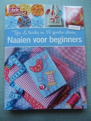 Needlework For Beginners Book Magazine - In Dutch! - Patchwork Applique Etc.