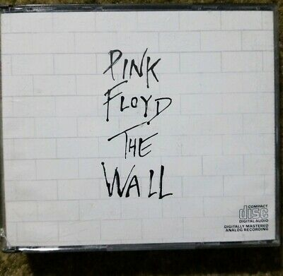 Rare Pink Floyd - The Wall 2 Cd 1990  C2K 36183 Columbia Early Press Dadc