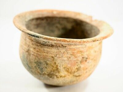 Shang Dynasty,Chinese pottery vessel incised Colar 1600-1100 B.C.