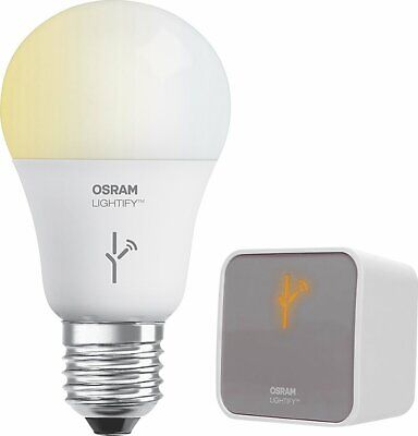 Sylvania OSRAM - LIGHTIFY LED Smart Connected Light  Gateway + Bulb Starter Kit