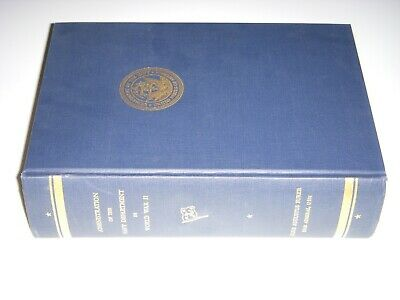 Administration of the Navy Department in World War II Hardcover 1959 WW2 HTF VGC