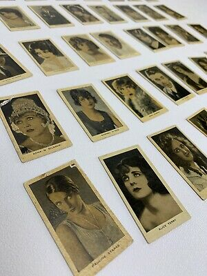 Antique Imperial Tobacciana Tobacco Cigarette Cards Film Favourites