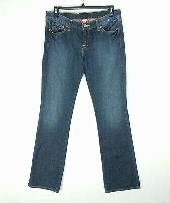 4cfad6c9ba5 NEW LUCKY BRAND Sz 14/32 LOLA Boot Women's Boot Cut Pants Blue Denim Jeans