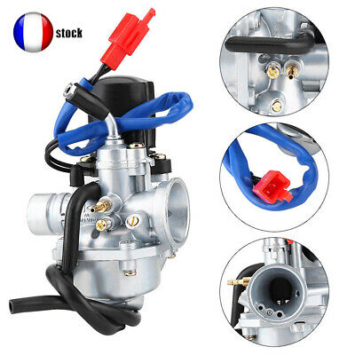 19MM Carburateur Carb Pour Yamaha Piaggio Zip Jog 50cc ATV Quad Go Kart WH