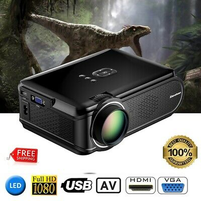 Excelvan BL-90 Mini Proyector de Home Cinema Theater LED 1080p ATV VGA HDMI USB