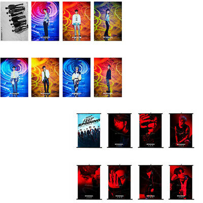 GOT7 SPINNING TOP:BETWEEN SECURITY&INSECURITY Album Poster Hanging Painting Czxy