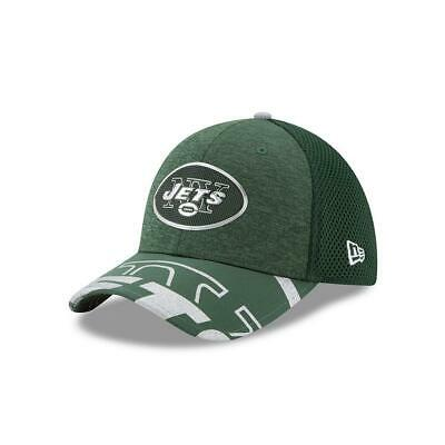 3607e766c3f732 New York Jets NY Hat New Era 2017 NFL Draft On Stage Fitted 39THIRTY Cap