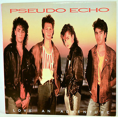 Album Vinyl Pseudo Echo Love an Adventure 1987 RCA  5730-1-R
