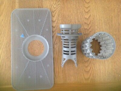 Used Genuine Bosch Dishwasher microfilter and filter tray from SI6P1B