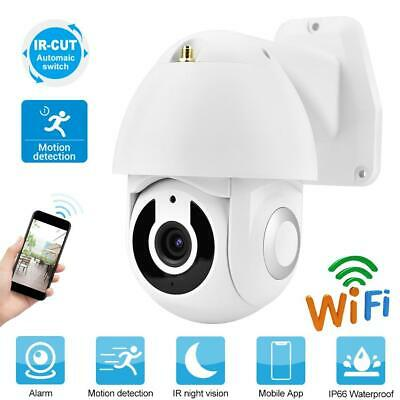 Telecamera IP Camera 2 Mpx HD 1080P Wifi Wireless IR PTZ Motorizzata Dome IP66