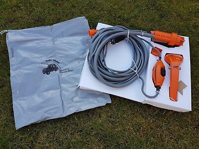 12v Electric Portable Camping Shower with Storage bag boat caravan festival car